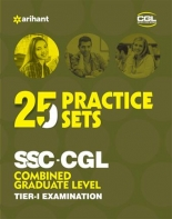 Arihant SSC-CGL 25 Practice sets Tier-I Examination