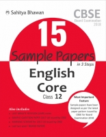 CBSE Board Examination (2018) 15 Sample Papers English Core Class-12
