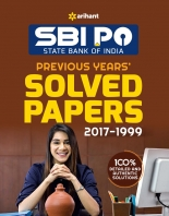 Arihant SBI PO Previous Years Solved Papers 2018