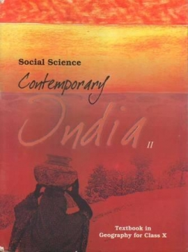 NCERT Social Science Contemporary India-II Textbook For Class 10