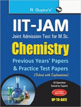 R Gupta IIT-JAM Chemistry Previous Year's & Practice Papers