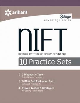 Arihant NIFT 10 Practice Sets