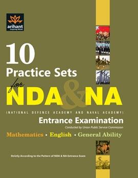 Arihant 10 Practice Sets For NDA & NA Entrance Examination