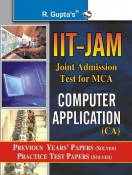 R Gupta IIT-JAM Computer Application Previous Years & Practice Solved Papers