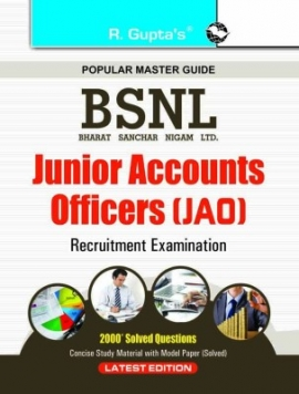 R Gupta BSNL Junior Accounts Officers ( JAO ) Exam Guide