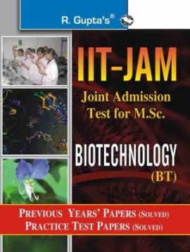 R Gupta IIT-JAM Biotechnology Previous Years & Practice Solved Papers