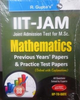 R Gupta IIT-JAM Mathematics Previous Years & Practice Solved Papers