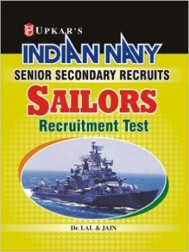 Upkar Indian Navy Senior Secondary Recruits SSR Sailors Recruitment Exam Guide