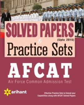 Arihant AFCAT Previous Years Solved Papers & Practice Sets
