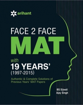 Arihant Face 2 Face MAT with 19 Years Topicwise Analysis & Solutions (1997-2015)