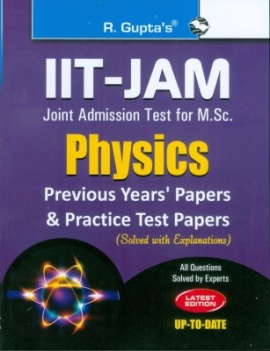 R Gupta IIT-JAM Physics Previous Year's & Practice Papers