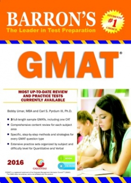 Barron's GMAT 2016 Guide