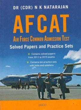 Jaico AFCAT: Air Force Common Admission Test Solved Paper And Practice Sets