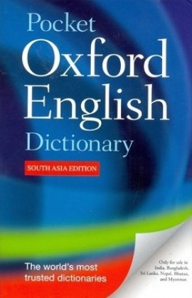 Pocket Oxford English Dictionary (South Asia Edition)