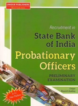 Unique State Bank Of India Probationary Officers (Pre.Exam Guide)