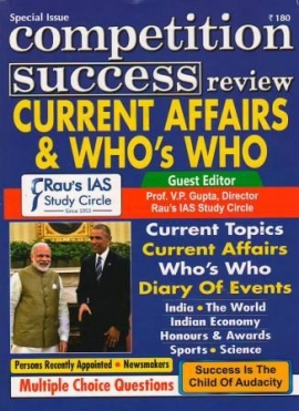 CSR Special Issue Current Affairs & Who's Who ?