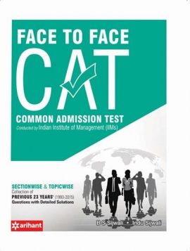 Arihant Face To Face CAT Common Admission Test