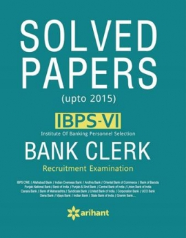 ARIHANT IBPS BANK CLERK SOLVED PAPERS