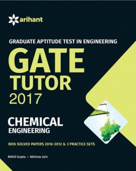 Arihant Graduate Aptitude Test in Engineering GATE Tutor 2017 - Chemical Engineering