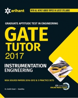 Arihant GATE Tutor 2017 Instrumentation Engineering