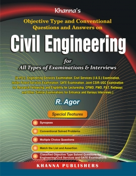Civil Engineering: Objective Type and Conventional Questions and Answer Paperback