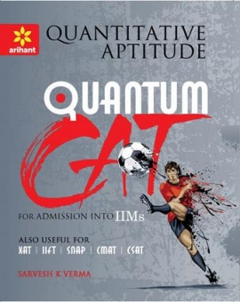 Arihant Quantitative Aptitude Quantum CAT Common Admission Tests For Admission into IIMs