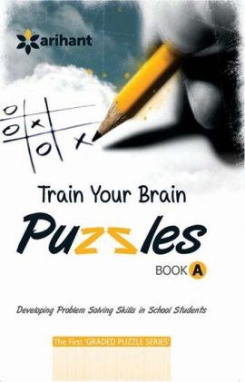 Arihant Train Your Brain Puzzles Book - A