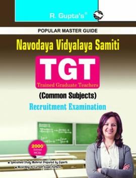 R Gupta  Navodaya Vidyalaya Samiti : TGT (Common Subject) Recruitment Exam Guide