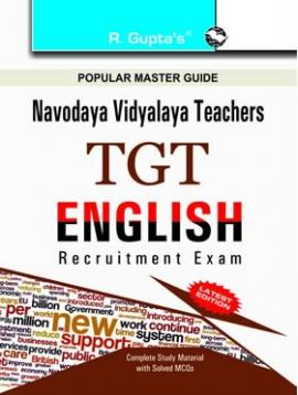 R Gupta  Navodaya Vidyalaya: TGT (English) Recruitment Exam Guide
