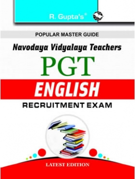 R Gupta  Navodaya Vidyalaya: PGT (English) Recruitment Exam Guide