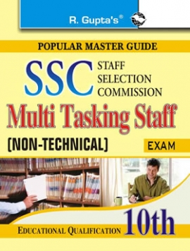 R Gupta SSC: Multi Tasking Staff (Non-Technical) Exam Guide