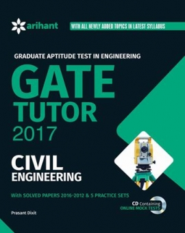 Arihant Graduate Aptitude Test in Engineering GATE Tutor 2017 - CIVIL ENGINEERING