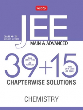 39 + 15 Years Chapterwise Solutions Chemistry for JEE (Adv + Main )