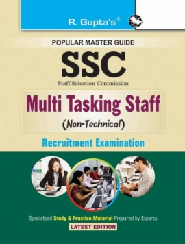 SSC: Multi Tasking Staff (Non-Technical) Paper I & II Recruitment Exam Guide