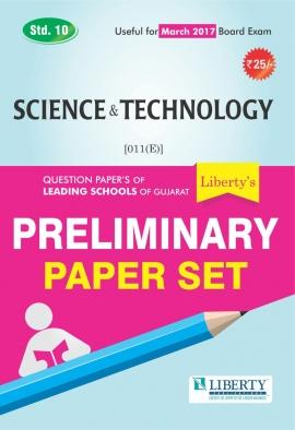 Liberty Std. 10 Science & Technology Preliminary Paper Set (Latest Edition)