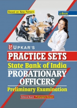 Upkar State Bank Of India Probetionary Officer Pre.Practice Paper