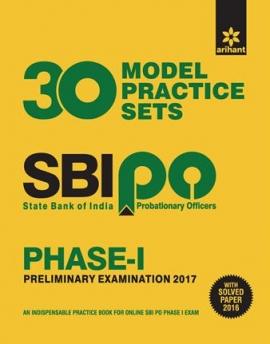 Arihant SBI PO Phase-I 30 Model Practice Sets