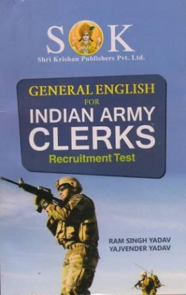 SK General English For Indian Army Clerks Recruitment Test