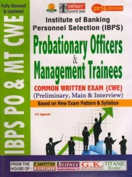 Bright IBPS PO/MT CWE Preliminary ,Main & Interview Exam Guide