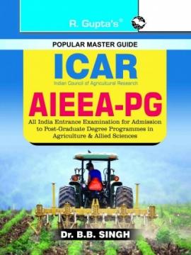 ICAR : AIEEA - PG Entrance Exam Guide