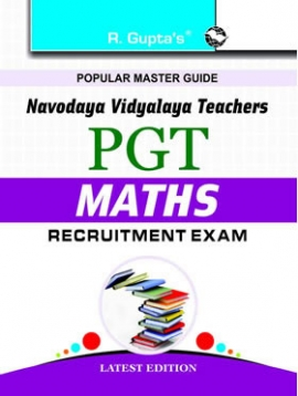 Navodaya Vidyalaya: PGT (Math) Recruitment Exam Guide