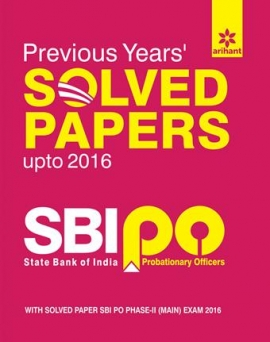 SBI PO Previous Years Solved Papers 2017