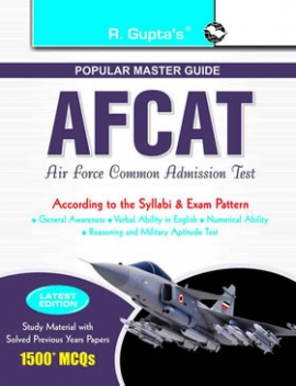 AFCAT (Air Force Common Admission Test) Exam Guide (enlarged)