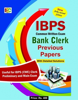 BSC IBPS -CWE BANK CLERK PREVIOUS PAPERS