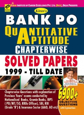 Bank Po Quantitative Aptitude Chapterwise Solved Papers 1999-Till Date 6900+ Objective Questionp
