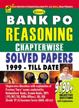Bank Po Reasoning Chapterwise Solved Papers 1999 – till Date 9190+Objective Questions