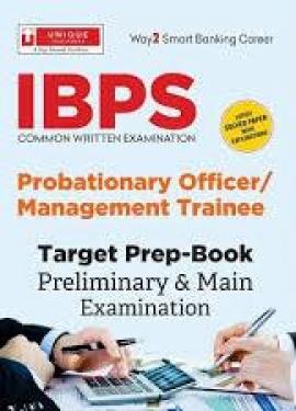 Unique IBPS CWE-VII Bank PO (PO/MT) Preliminary & Main Examination 2017