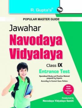 Jawahar Navodaya Vidyalaya Entrance Exam Guide for Class IX