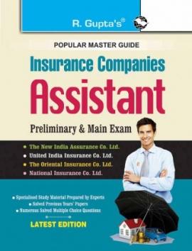 Insurance Companies : Assistant (Preliminary & Main) Exam Guide