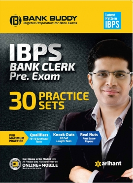 IBPS Bank Clerk Pre Exam 30 Practice Sets